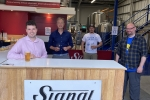 Elliot at Signal Brewery